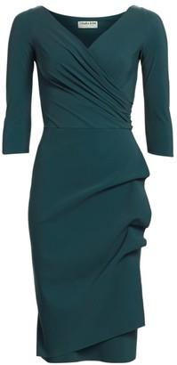 Chiara Boni Florien Ruched Sheath Dress