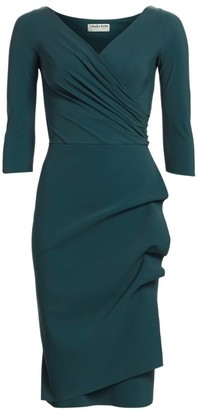 Chiara Boni Florien Ruched Sheath Dress