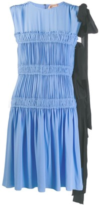 No.21 Micro Pleated Mini Dress