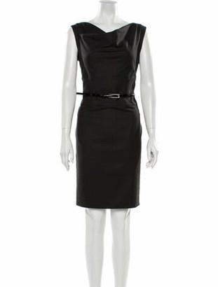 Armani Collezioni Virgin Wool Mini Dress w/ Tags Wool