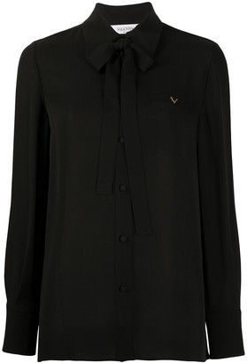 Valentino VGOLD ribbon-embellished blouse