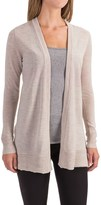 Max Studio Cashfeel Cardigan Sweater - Merino Wool (For Women)
