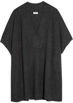 Vince Oversized Wool And Cashmere-blend Sweater - Charcoal