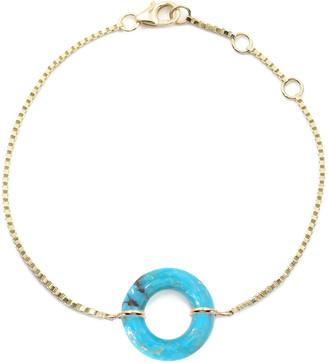 BONDEYE JEWELRY Turquoise Munchkin Box Chain Bracelet
