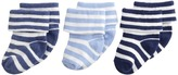 Jefferies Socks Turn Cuff 3 Pack Boys Shoes