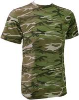 Anvil Mens Heavy Camouflage Tee / T-Shirt (L)