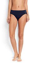 Lands' End Women's Mid Waist Bikini Bottoms-Holiday Nutcracker