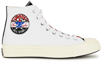 Converse Logo Play Chuck 70 panelled canvas sneakers