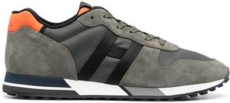 Hogan H86N panelled low-top sneakers