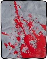 Old Glory Blood Splatter Fleece Blanket