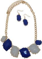 Periwinkle/Blue Stone Set Necklace