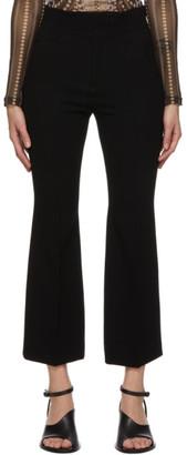 Mame Kurogouchi Black Structured Center Crease Trousers