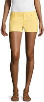 City Streets 2.5 Poplin Chino Shorts-Juniors