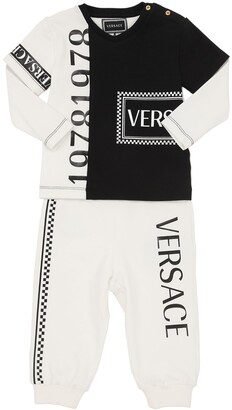 Versace Light Cotton Sweatshirt & Sweatpants