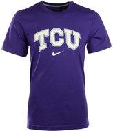 Nike Men's Short-Sleeve Texas Christian Horned Frogs Wordmark T-Shirt