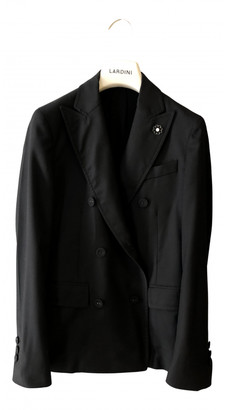 Lardini Black Wool Jackets