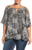 Sejour Plus Size Women's Off The Shoulder Blouse