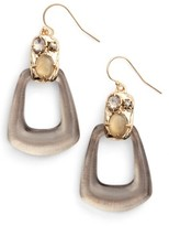 Alexis Bittar Women's Lucite Smoky Quartz Drop Earrings