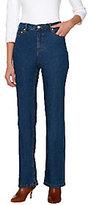 Liz Claiborne New York Petite Hepburn Bootcut Jeans