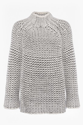 French Connection Zoe Knit High Neck Jumper