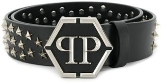 Philipp Plein Star Studded Belt