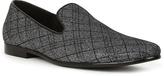 Giorgio Brutini Black & Silver Command Loafer