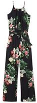 Vince Camuto Tropical-print Jumpsuit