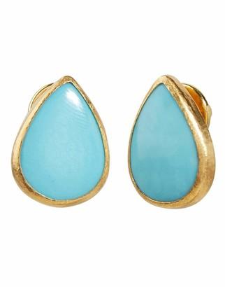 Gurhan Rune Turquoise Stud Earring