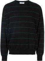 Ami Alexandre Mattiussi striped oversize sweater - men - Cotton - S