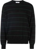 Ami Alexandre Mattiussi striped oversized sweater - men - Cotton - S