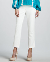 Rachel Roy Cropped Ankle Pants, White