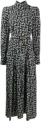 Isabel Marant Ikena high-neck maxi dress