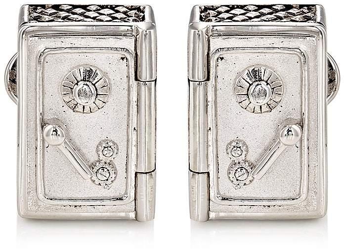 Jan Leslie Men's Safe & Money-Bag Cufflinks