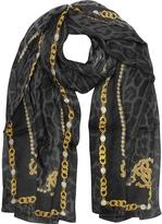 Roberto Cavalli RC Printed Silk Stole