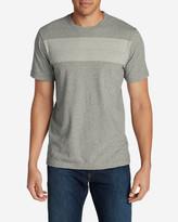 Eddie Bauer Men's Legend Wash Short-Sleeve T-Shirt - Stripe