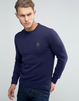 Franklin & Marshall Knitted Crew Neck Sweater