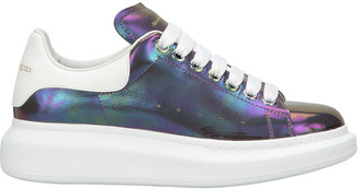 Alexander McQueen Oversized Holographic Sneakers