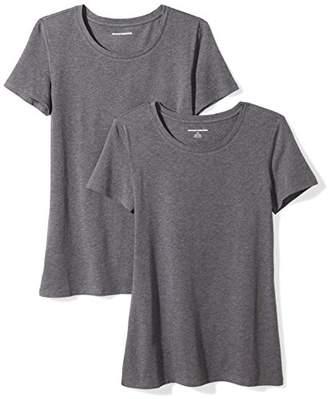 Amazon Essentials 2-pack Short-sleeve Crewneck Solid T-shirtLarge (size:):)