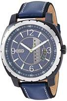 ESQ Men's Stainless Steel Watch w/ Leather Strap FE/0112