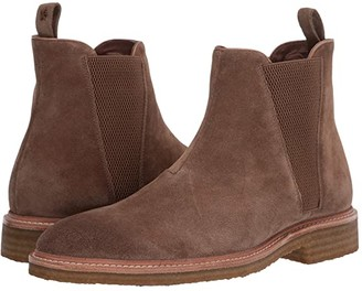 John Varvatos Leroy Crepe Chelsea (Brownstone) Men's Pull-on Boots