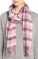 Nordstrom Women's Heritage Plaid Cashmere Scarf