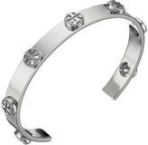 Tory Burch Milgrain Logo Cuff Bracelet