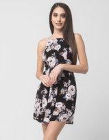 Socialite Floral Square Neck Dress