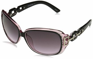 Southpole Women's 1017sp Oxpk Non-Polarized Iridium Round Sunglasses