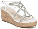 Fergalicious Mimic Embellished Platform Wedge Sandal