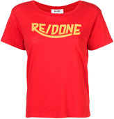 RE/DONE logo print T-shirt - women - Cotton - S