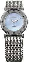 Jowissa Women's Roma MoL Blue Mother-of-Pearl Roman Numerals Stainless-Steel Watch