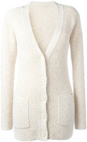 See by Chloe chunky knit cardigan - women - Silk/Cotton/Nylon/Polyester - S