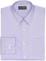 Lauren Ralph Lauren Non-Iron Medium Purple Solid Dress Shirt