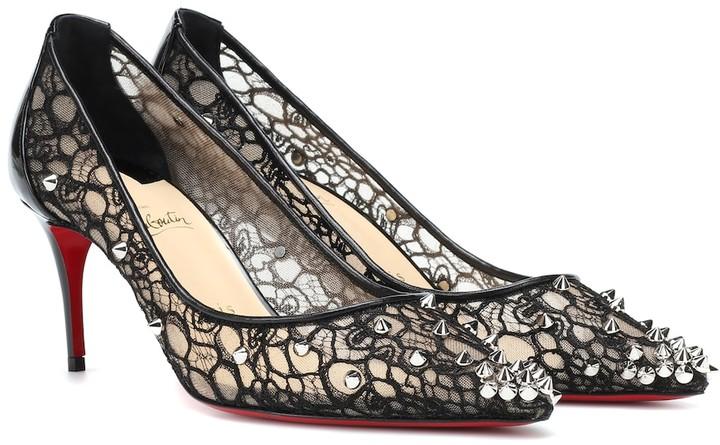 7cd01cd9832ca Christian Louboutin Lace Shoe - ShopStyle